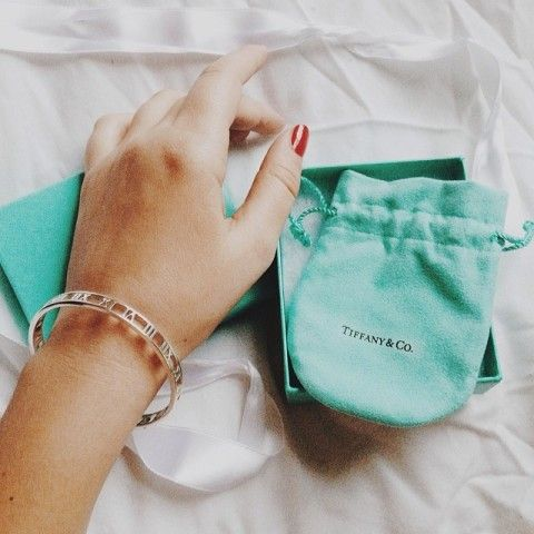 Tiffany Co Atlas Narrow Bangle In Sterling Silver Spotted On Wishwishwish
