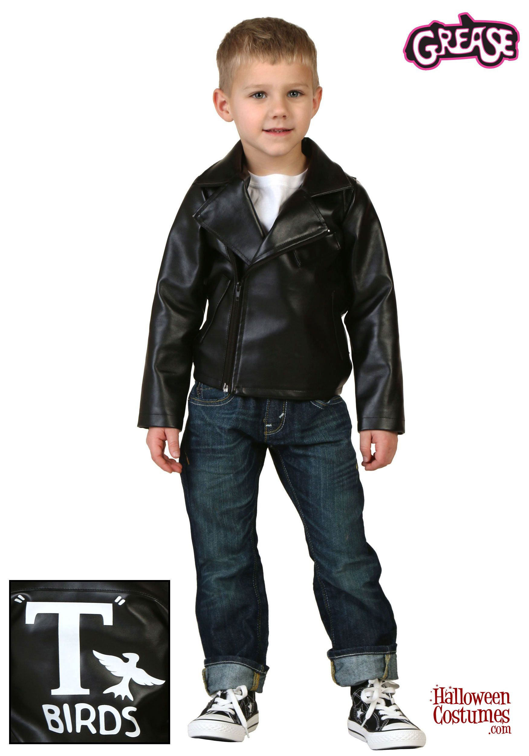 73f5a09a9 Toddler Grease T-Birds Jacket Costume | Movie Costumes in 2019 ...