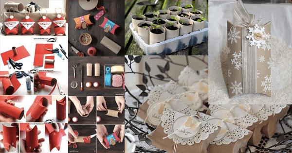 27 Ideias INCRÍVEIS Para Reciclar Rolo de Papel Higiênico