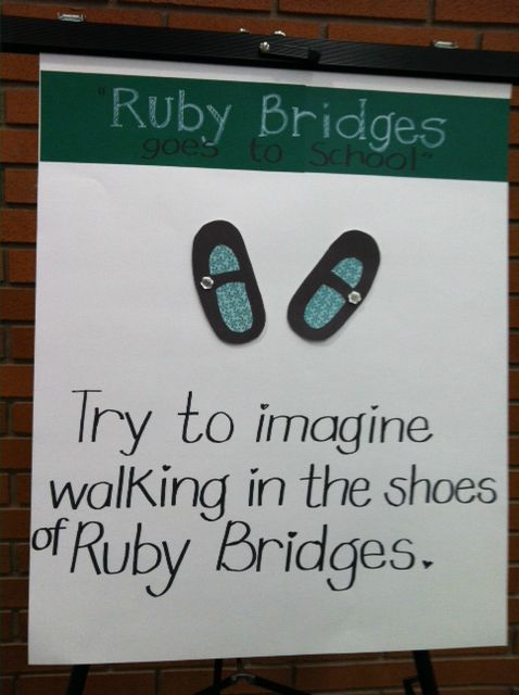 Ruby Bridges Quotes Wwwprojectcorrnerstone Poster Example For Ruby Bridges' Lesson