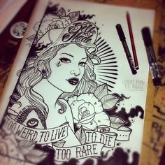 Perfect Emily Rose Murray Drawing   Quote From Fear U0026 Loathing, Read Out At Daveu0027s  Funeral Home Design Ideas