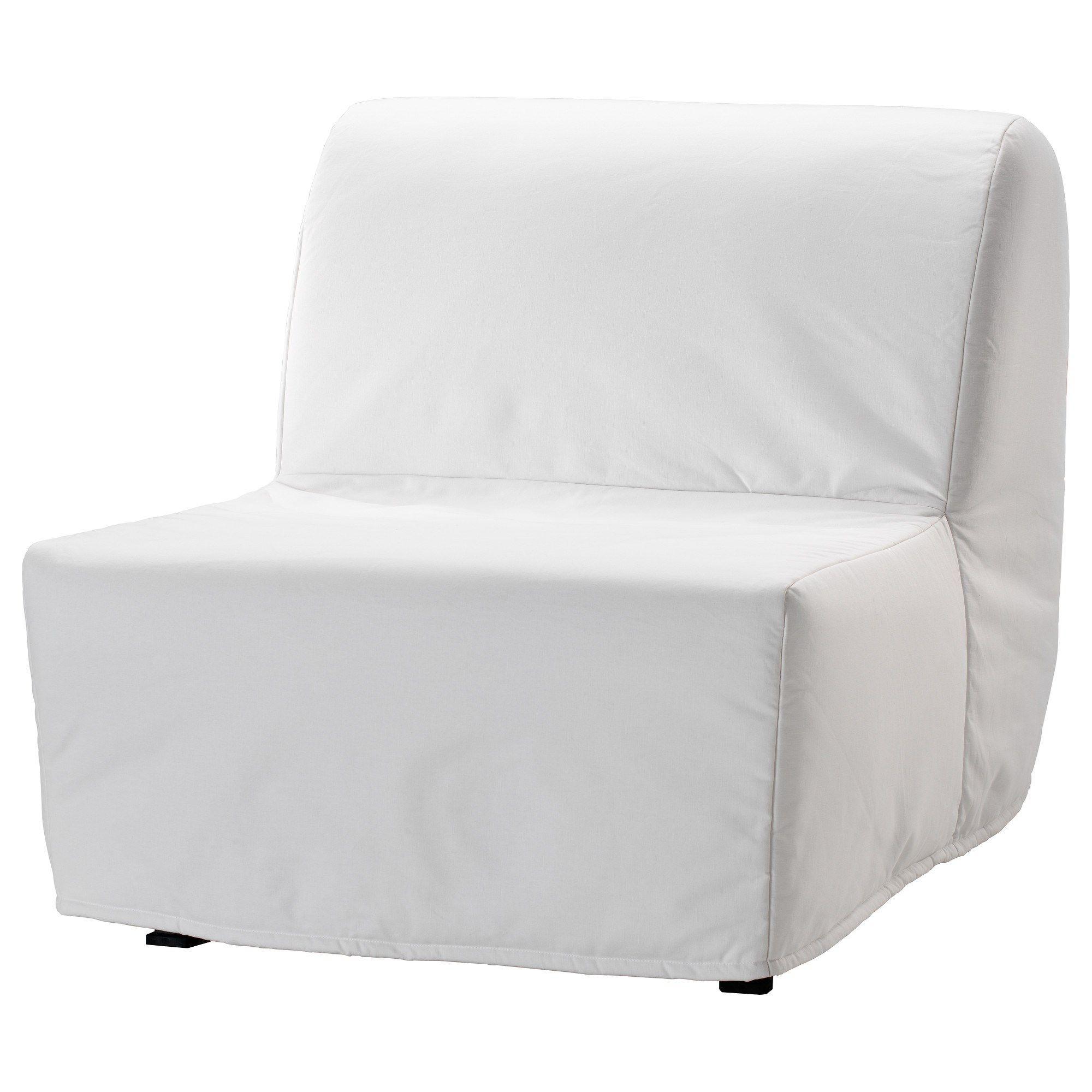 Lycksele Lovas Tekli Yatakli Koltuk Ransta Beyaz Ikea Fikirleri Oturma Odalari Yatak Kanepe