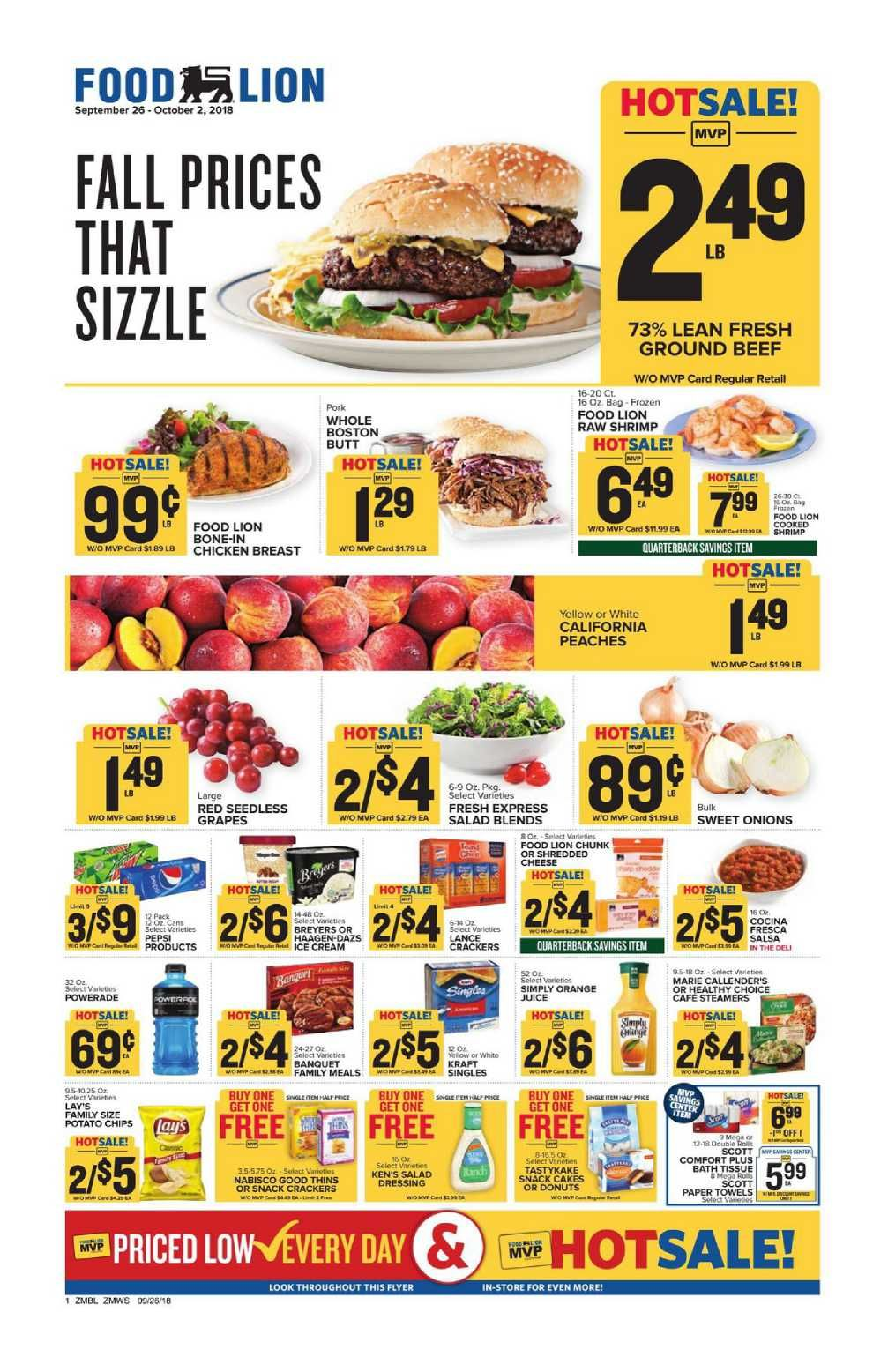 Food Lion Weekly Ad Flyer December 5 11 2018 Weekly Ad