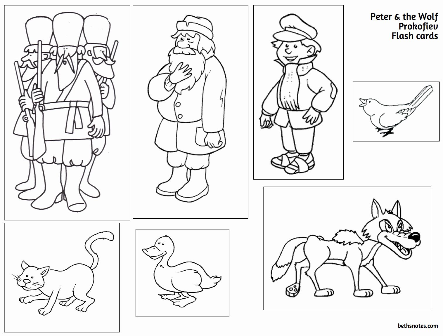50 Peter And The Wolf Worksheet In