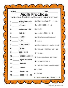 Free reading and writing numbers in expanded form standard form and free reading and writing numbers in expanded form standard form and written form 8 publicscrutiny Image collections