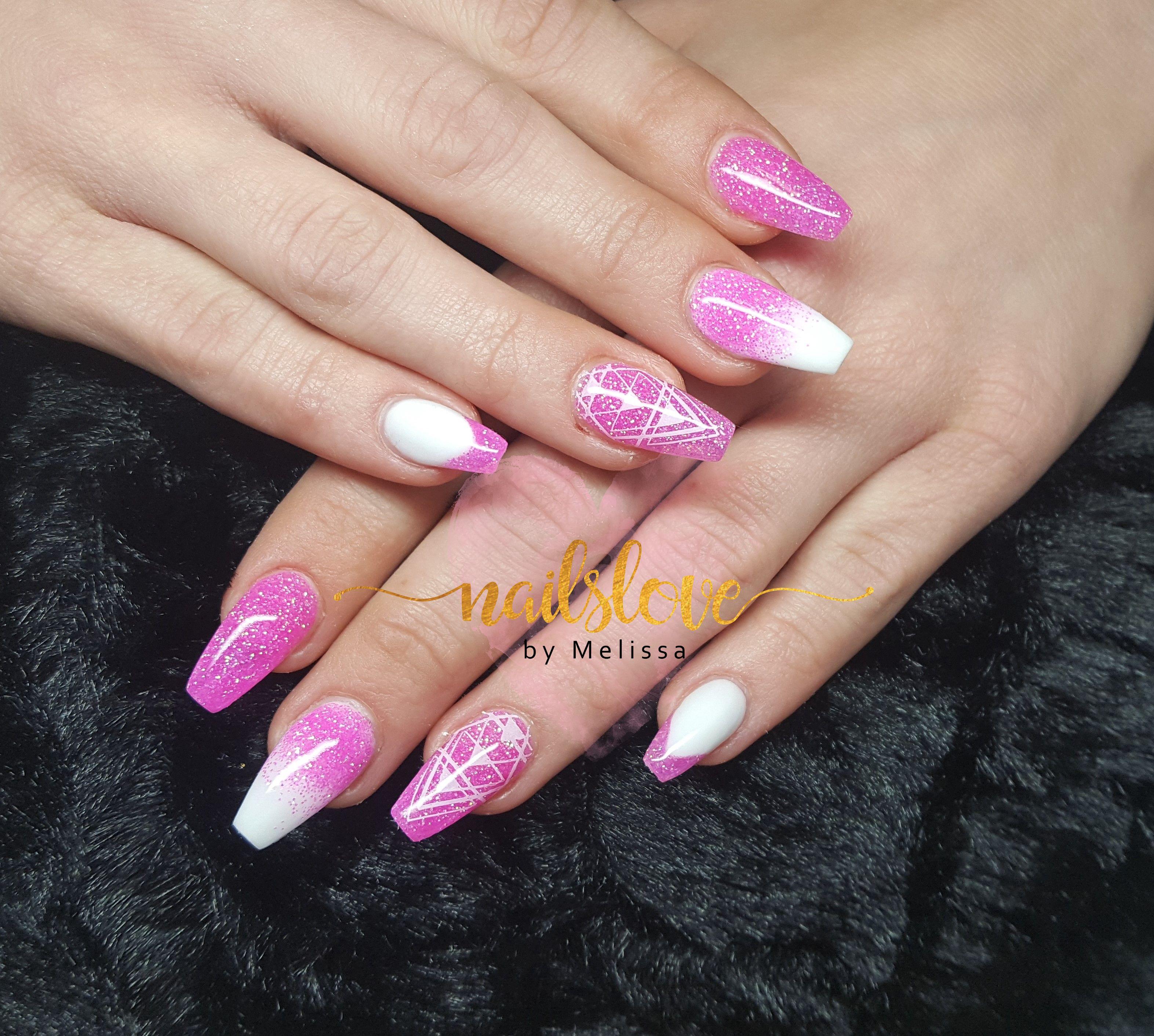 Ballerinanails acrylicnails longnails nails pink pinknails