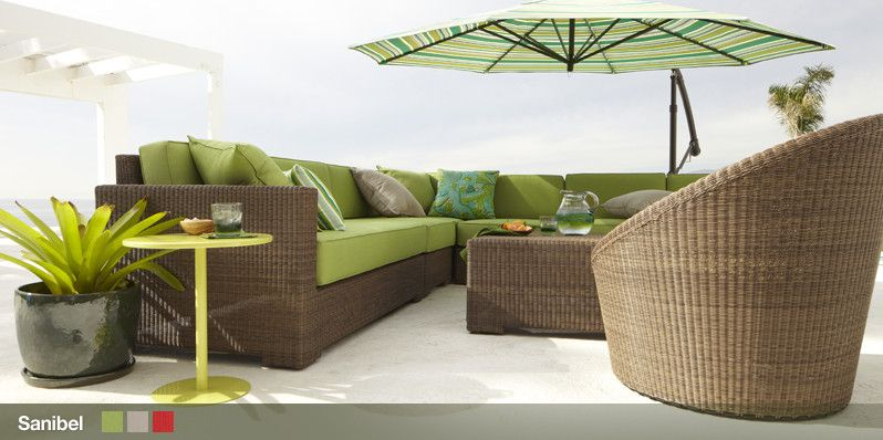 Crate And Barrel Sanibel Outdoor Collection Can I Have A