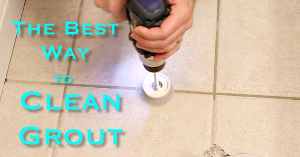 The Best Way To Clean Grout Ever Clean Grout Grout And Cleaning