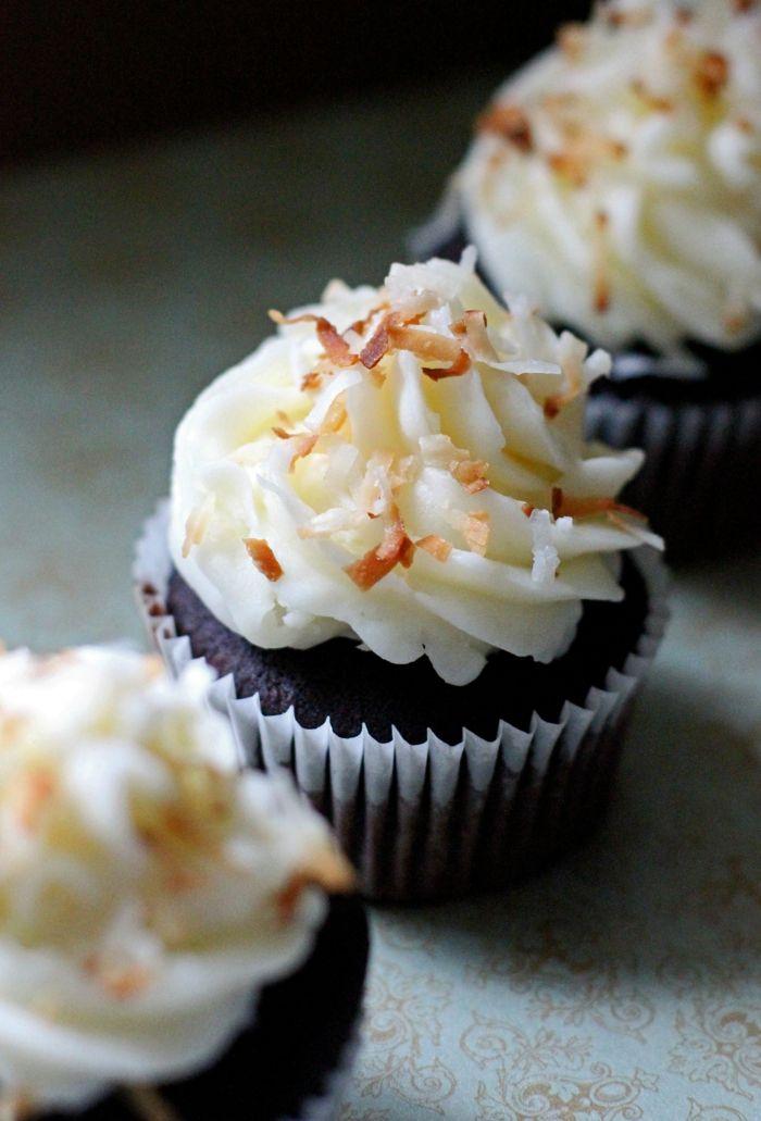 Cupcakes Backen Kokosnuss Coole Muffins Essen Rezepte