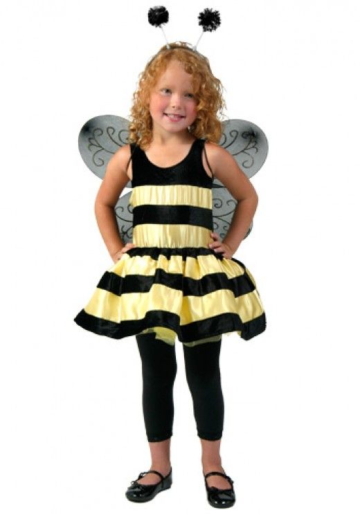 Little Girl Bumble Bee Costume  http://barnaclebill.hubpages.com/hub/bumblebeehalloweencostumesphotosdesignsideas