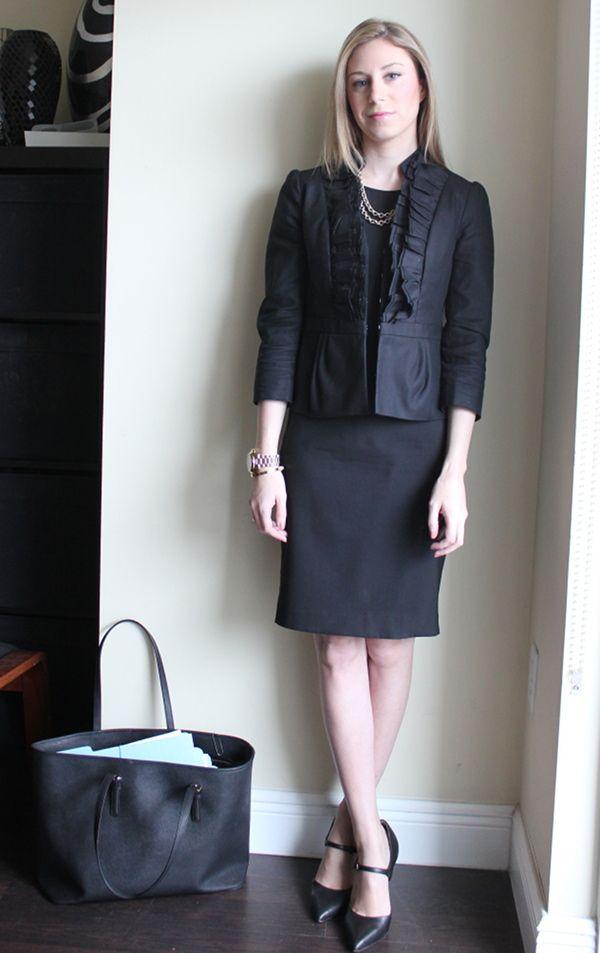 All Black Everything Lawyer Fashion Fashion Womens