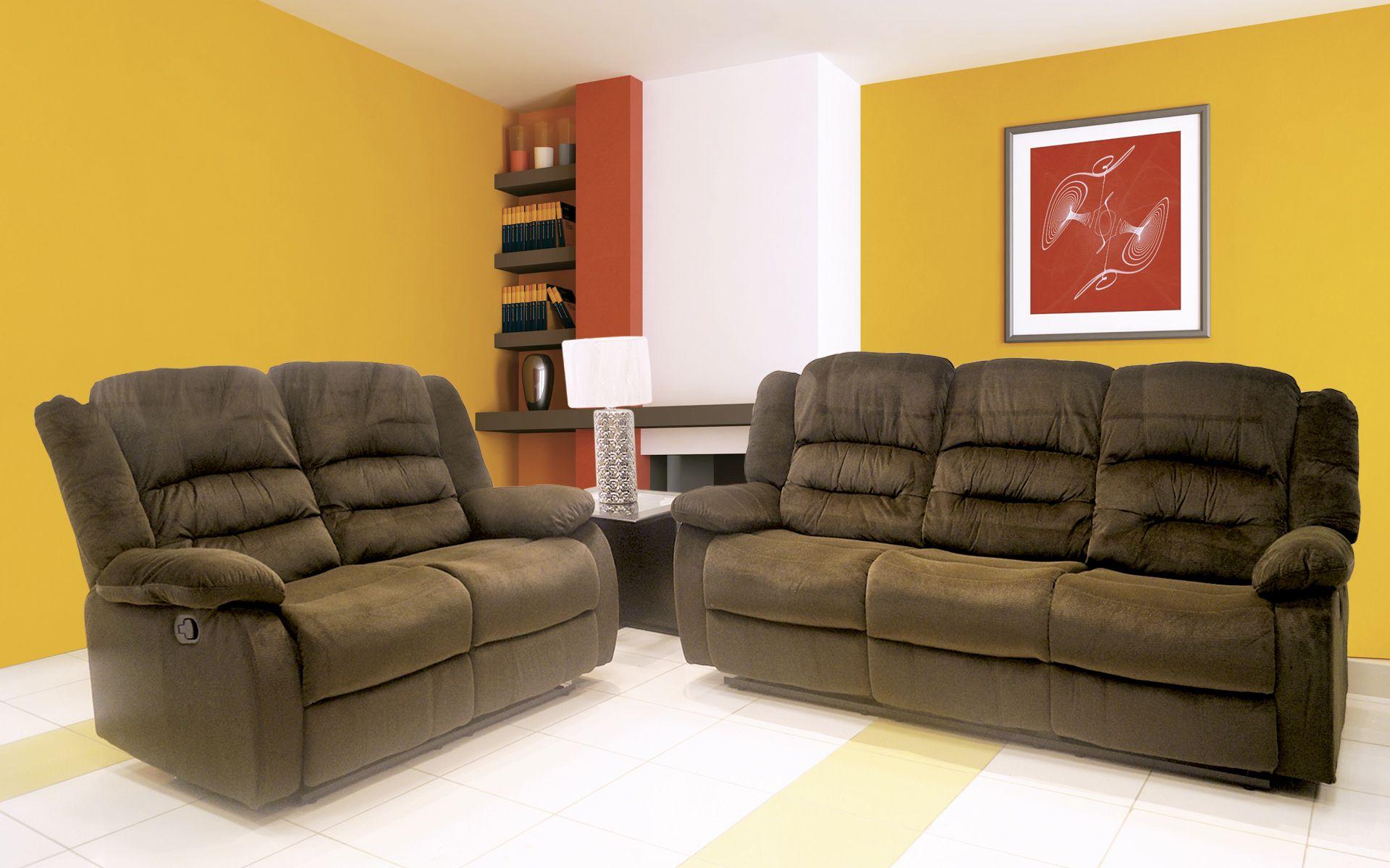 Juego De Sala Reclinable Mod 51030_31liza Lo Mejor En Salas  # Muebles Requinables