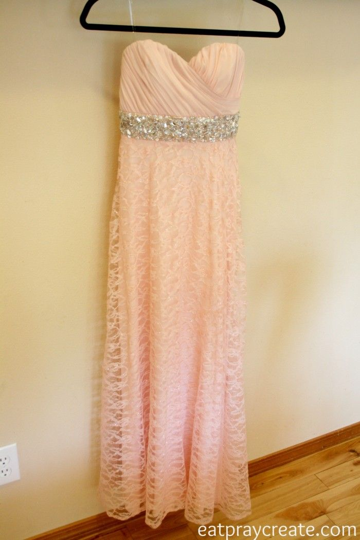 DIY: Easy Way to Add Sleeves to a Prom Dress |do it yourself divas ...