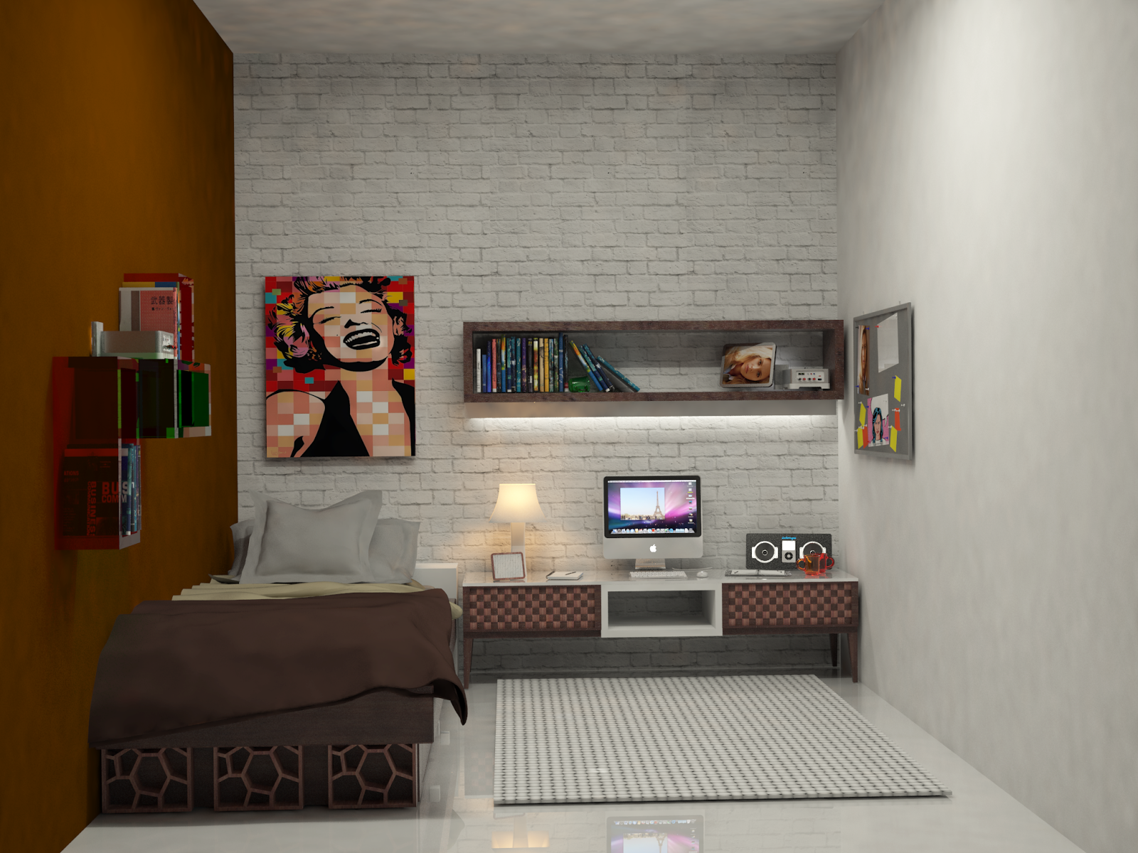 desain kamar kost rapi biaya murah | projects to try | room, cool
