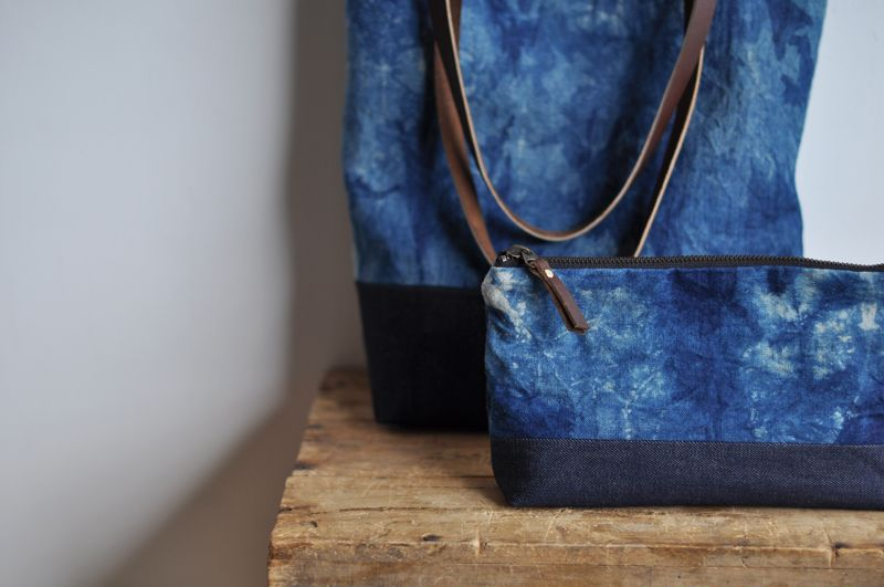 bookhou at home denim and leather