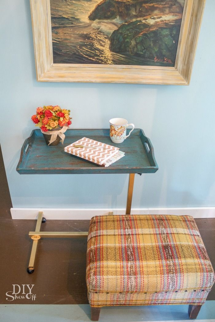 DIY Show Off Bedside table makeover, Side table makeover
