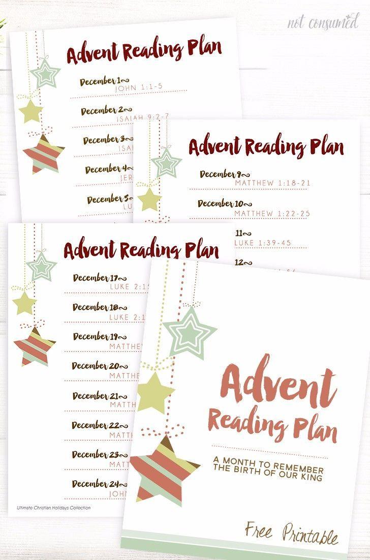 Advent Calendar for Kids Reading Plan Advent calendars