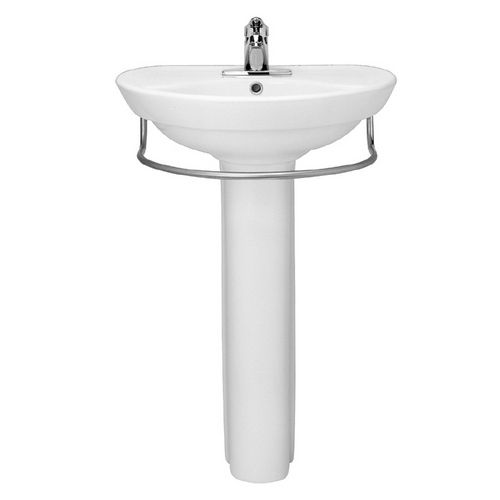 205 American Standard Ravenna White Complete Pedestal Sink With