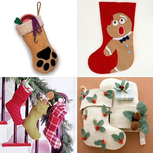 My Husband And Step Daughter Need Personalized Stockings 20 Ways To Make Your Own Holiday Via Brit Co