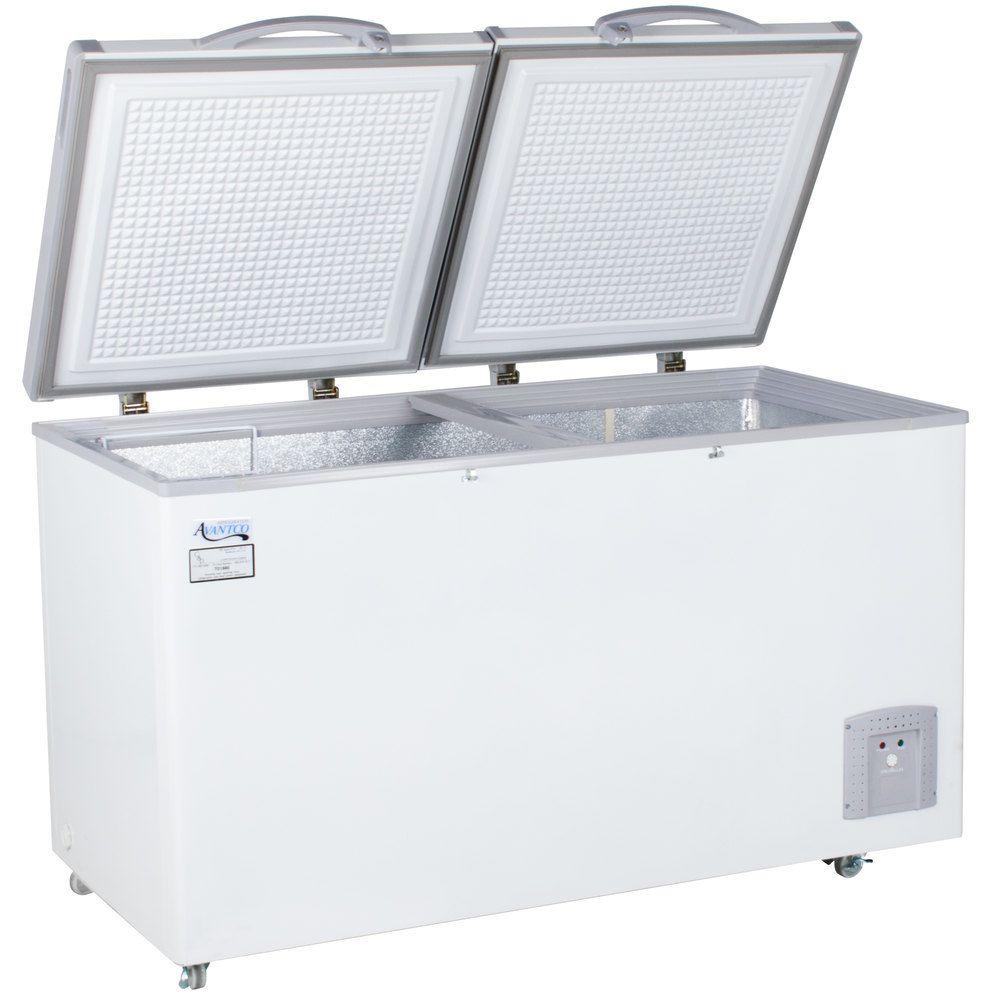 Avantco Hf14 14 Cu Ft Commercial Chest Freezer 2 Door Chest Freezer Used Solar Panels Freezer