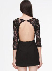 Backless Dresses for Winter
