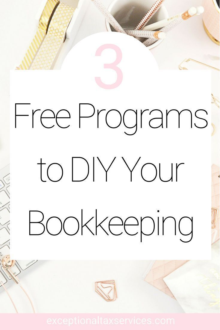 FREE WAYS TO DO YOUR OWN BOOKKEEPING Bookkeeping