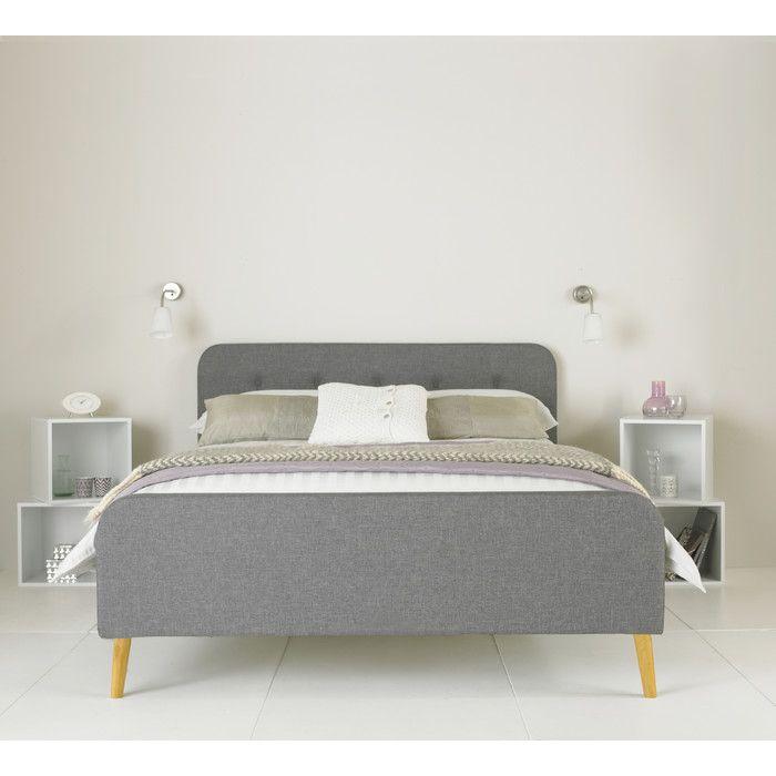 Mikael Upholstered Bed Frame | Bedroom | Pinterest | Upholstered bed ...
