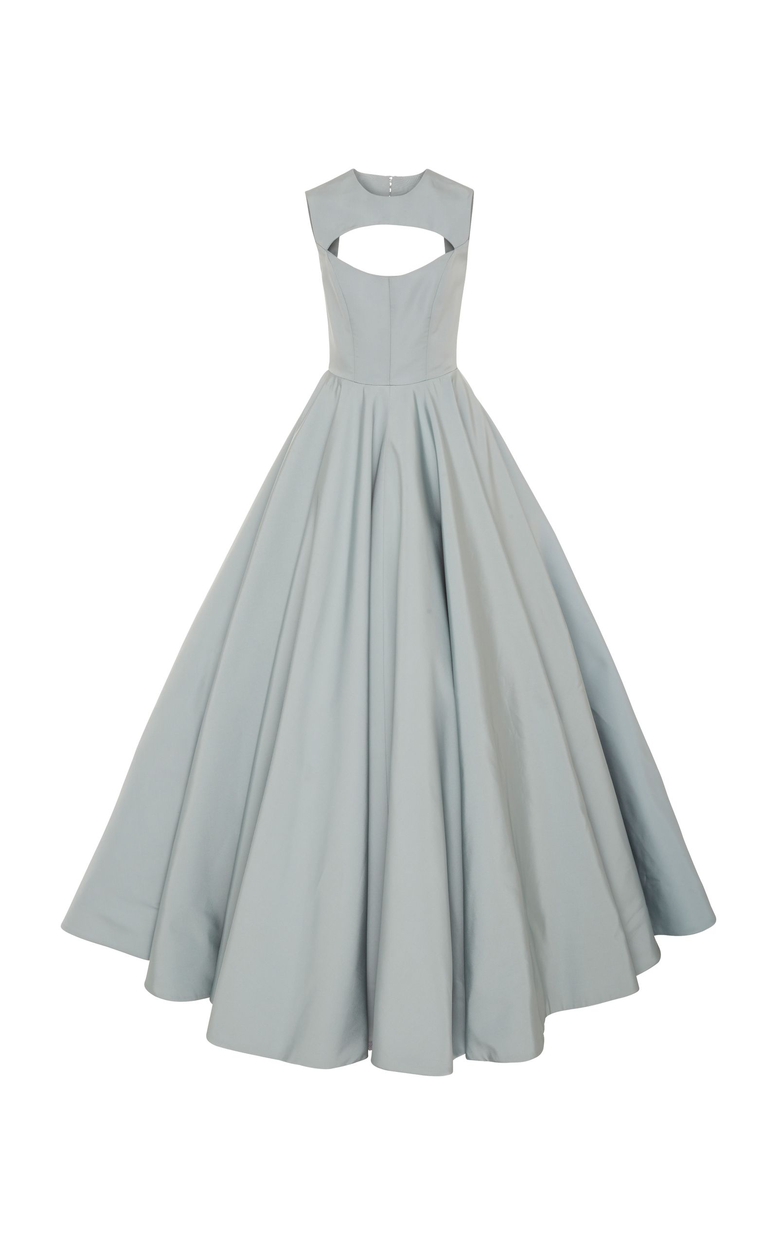 Silk faille cut-out gown by Christian Siriano | Playing Dress-Up ...
