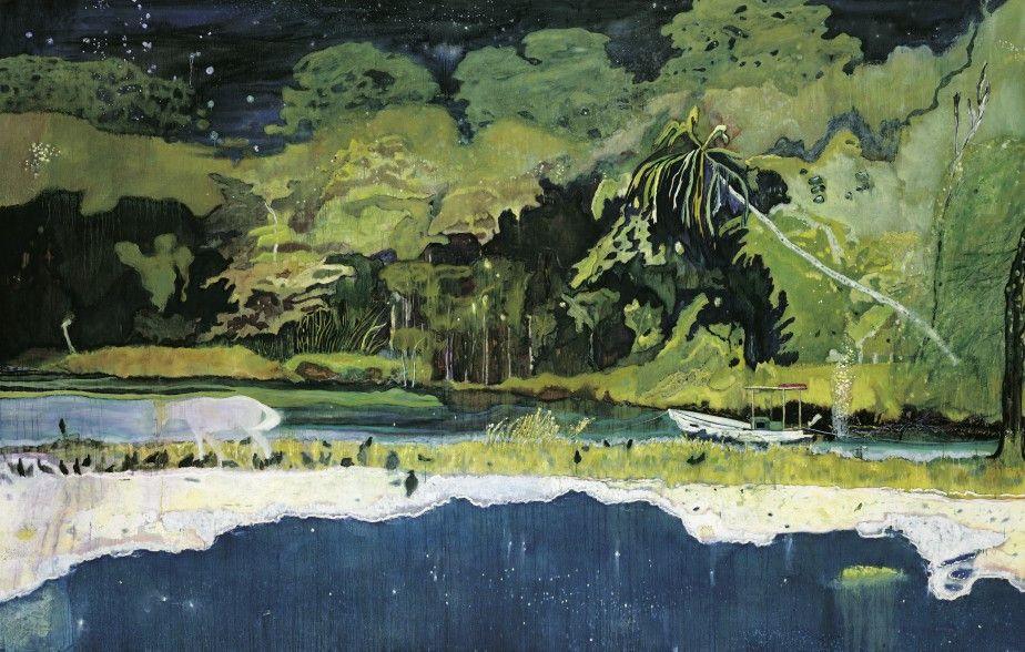 Peter Doig Nulle Terre Etrangere Peter Doig Art Paysage Paysages Abstraits