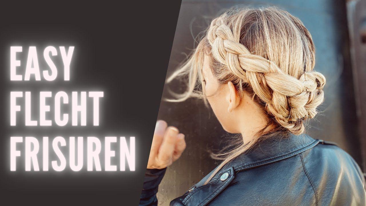Flechtfrisuren Ganz Einfach I Tutorial Deutsch Youtube Geflochtene Frisuren Flechtfrisuren Frisuren