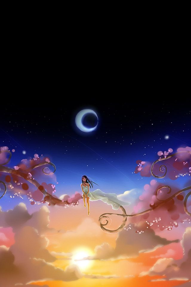 Pin On Iphone 4 S Wallpapers Cute anime wallpaper for iphone 4