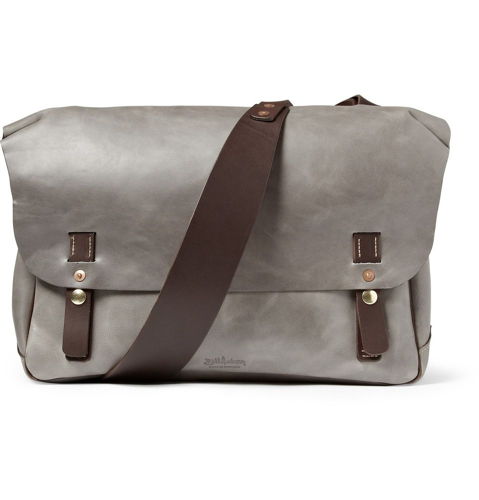 bill amberg leather messenger bag leather goods pinterest. Black Bedroom Furniture Sets. Home Design Ideas
