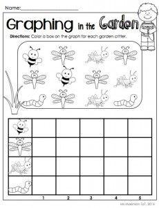 Graph Worksheet For Kids Preschool Graphs Graphing Kindergarten