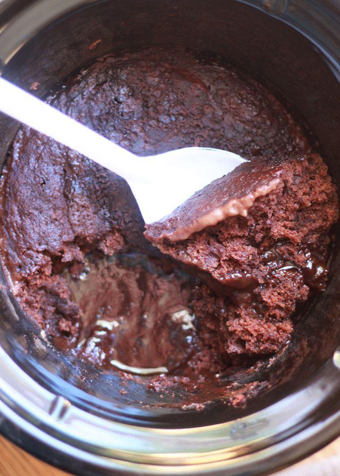Slow Cooker Hot Fudge Pudding Cake Recipe In 2018 Kitchen Treaty