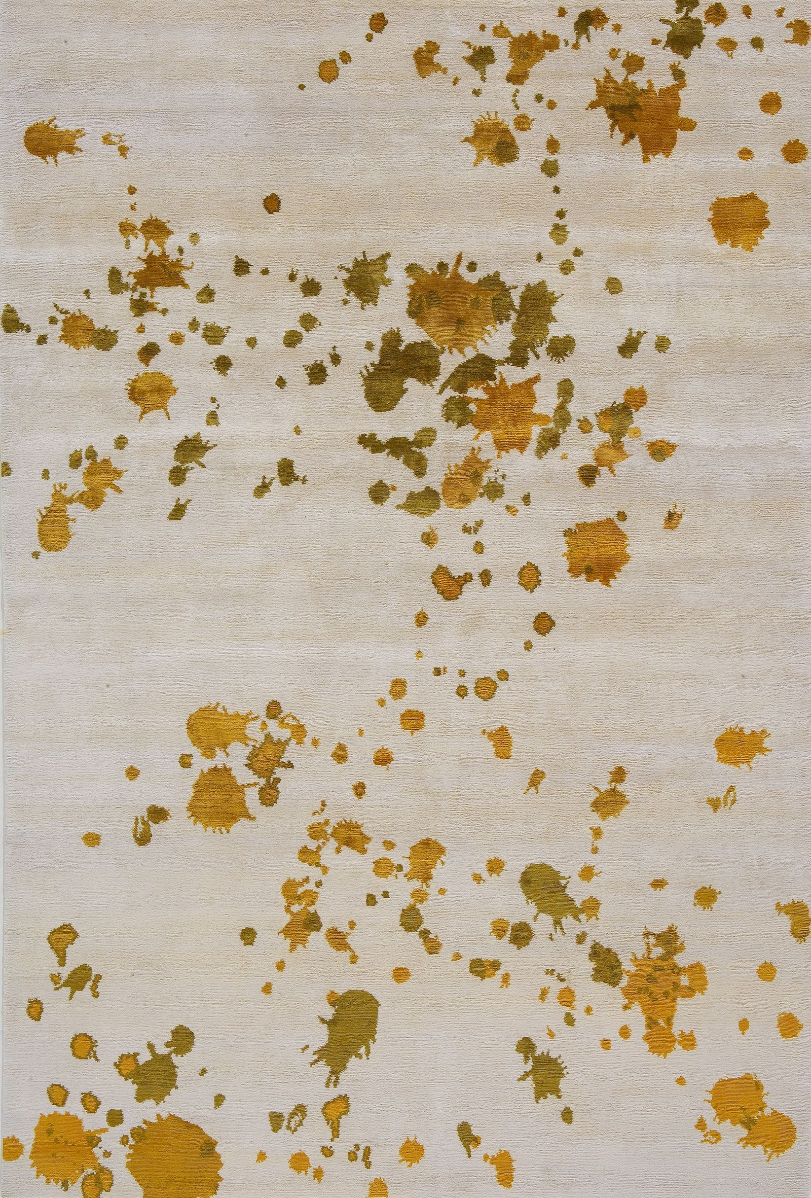 Five Spot Silk-And-Cotton Rug - ELLEDecor.com