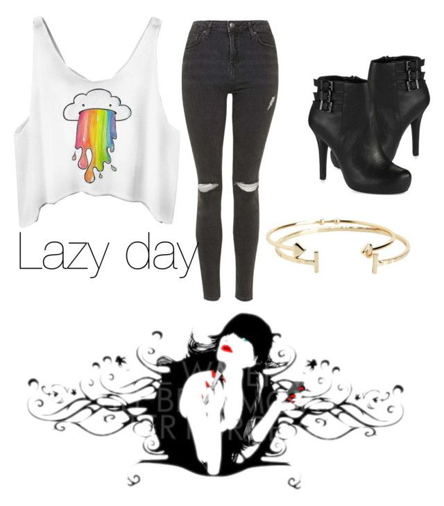 """Lazy day ☕️"" by fairyfarah on Polyvore featuring Topshop, BCBGeneration and Aéropostale"
