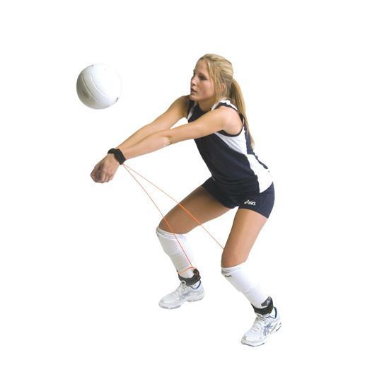 Tandem Pass Rite Volleyball Training Tool Volleyball Training Coaching Volleyball Sport Volleyball