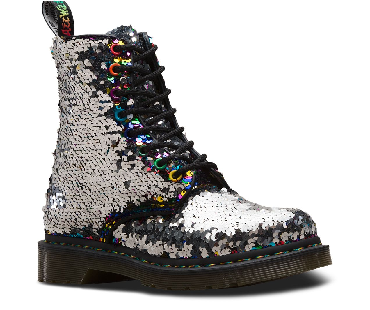 DR MARTENS 1460 PASCAL SEQUIN | Boots
