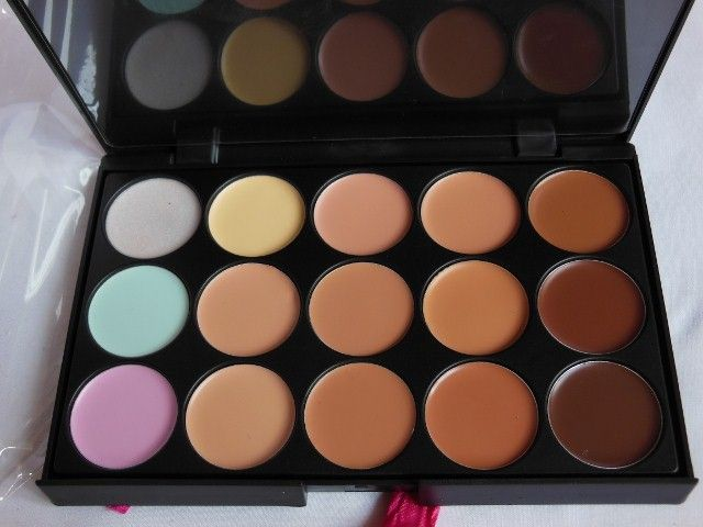 Born Pretty Store 15 Color Multi Functional Concealer Palette - Beauty and Makeup Matters