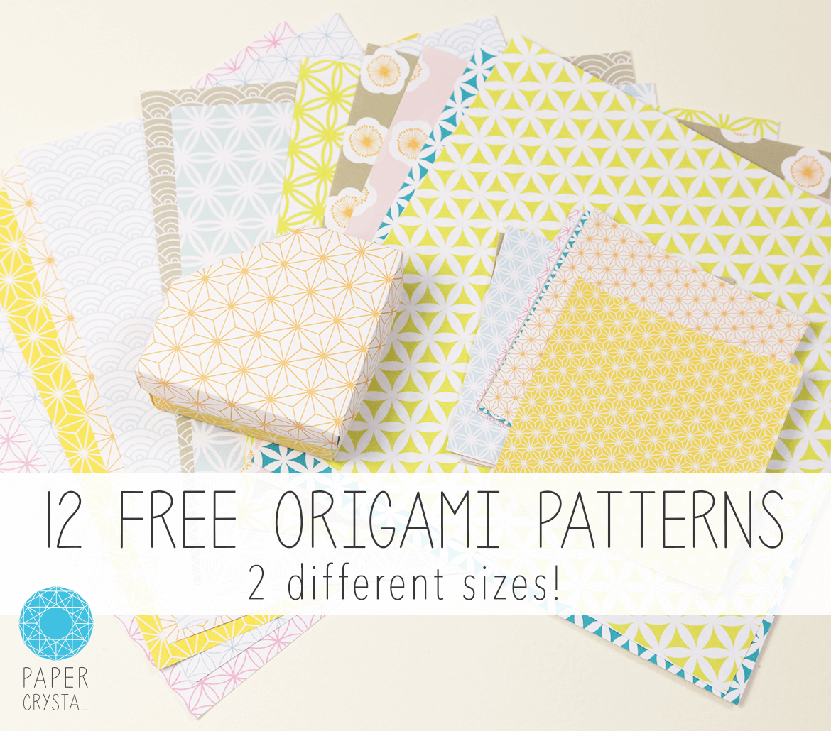 photograph about Printable Origami Paper known as 12 Free of charge Printable Origami Papers! Printable Tasks