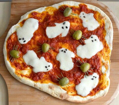 Immagine di pizza, food, and Halloween