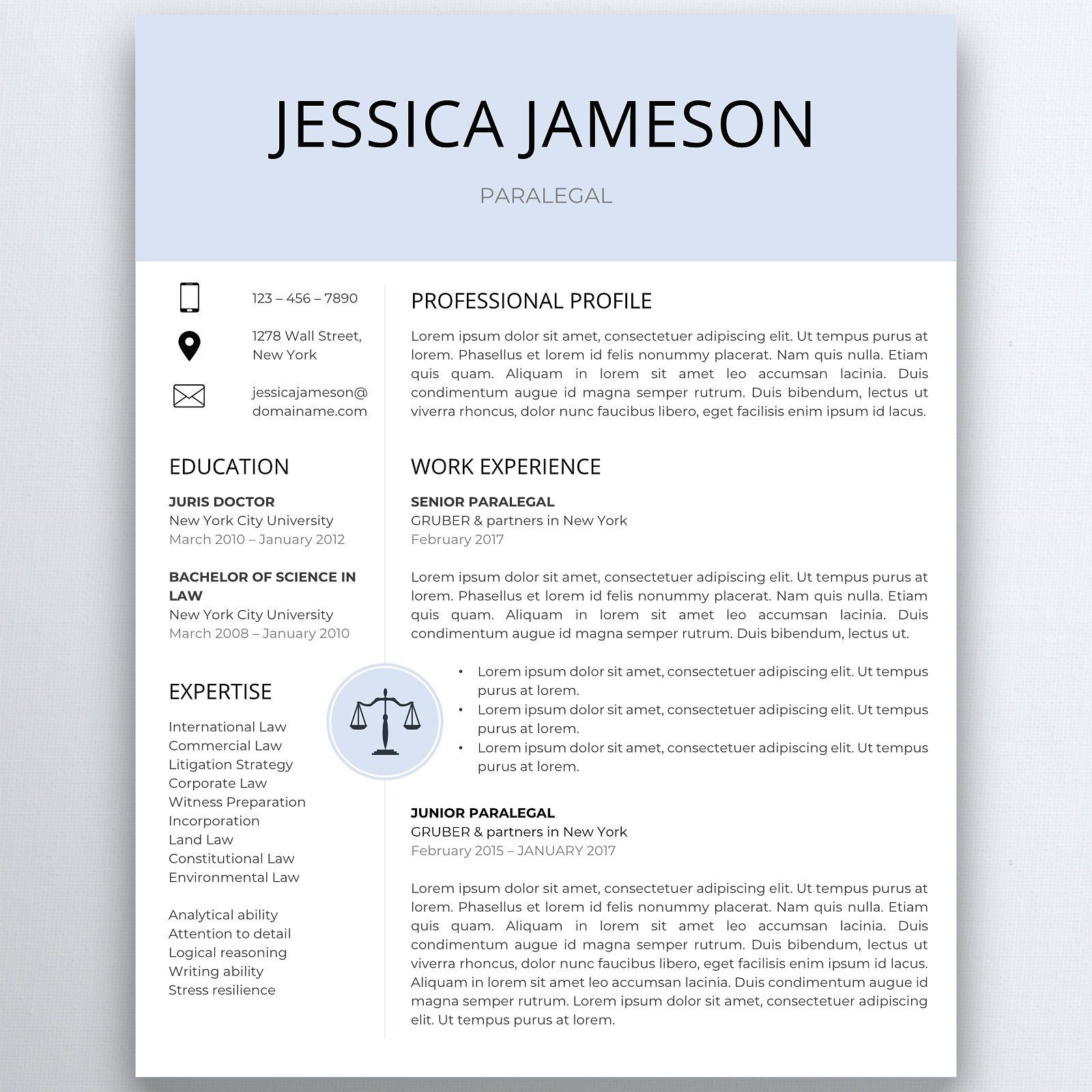 Assistant resume legal resume template lawyer resume