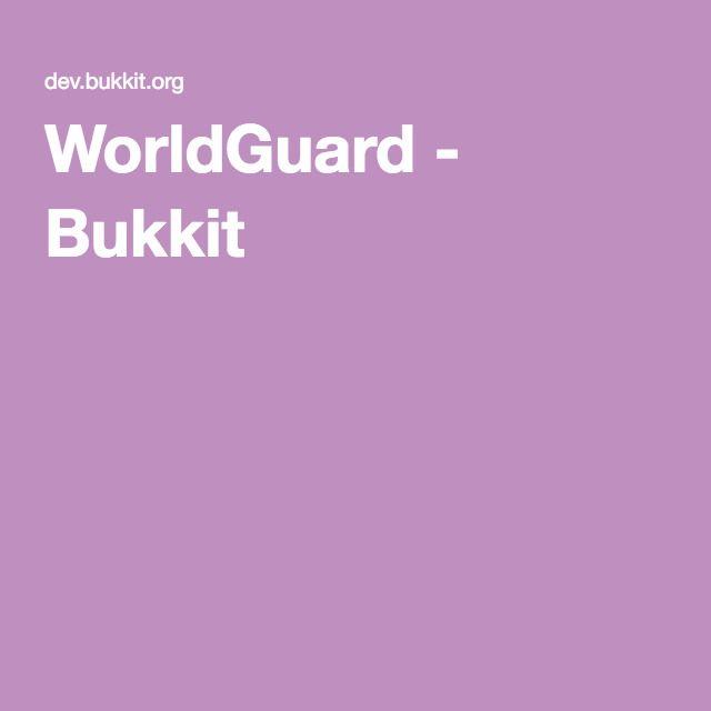 WorldGuard - Bukkit