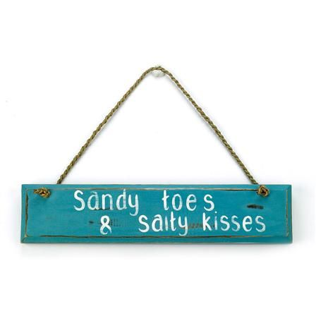 Archipelago Sandy Toes Sign