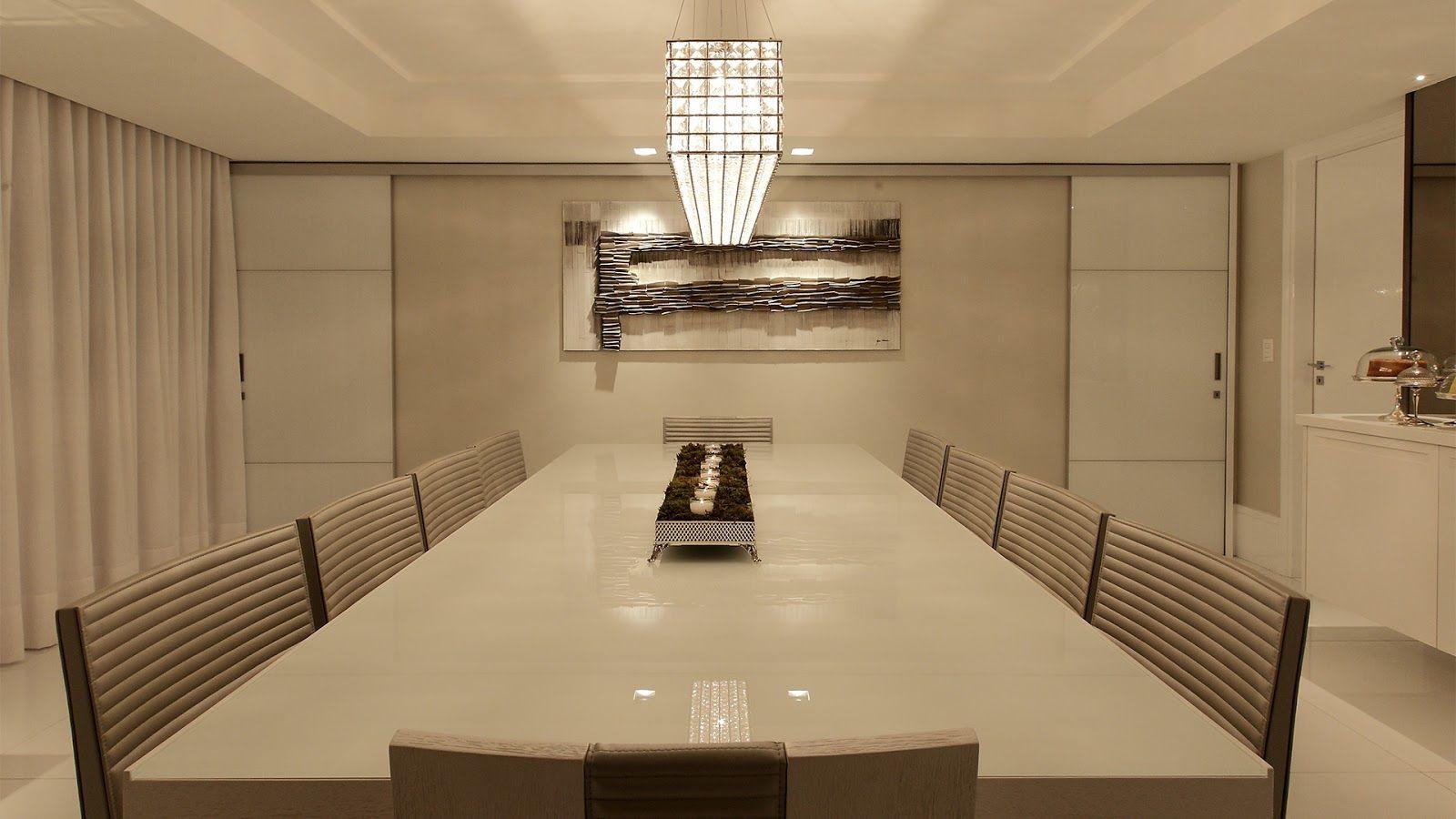 Salas De Estar Jantar E Tv Integradas E Decoradas De Preto Branco  -> Imagens Sala De Estar Decorada