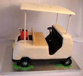 Golf Cart Cake Have Your Cake And Eat It Too