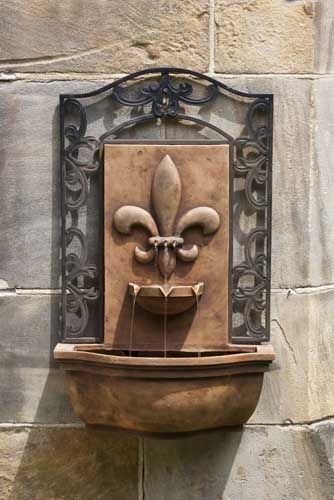 French Quarter Wall Water Fountain, $18999 Home Pinterest