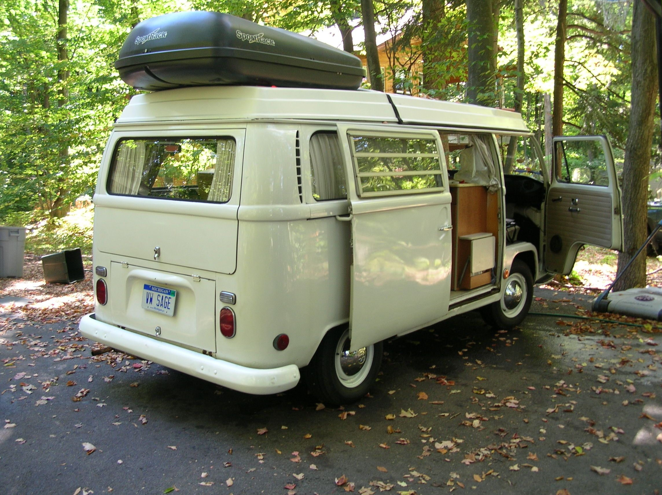 VW Westfalia Type 2 Camper Bus  Renovated 1969, I was the second