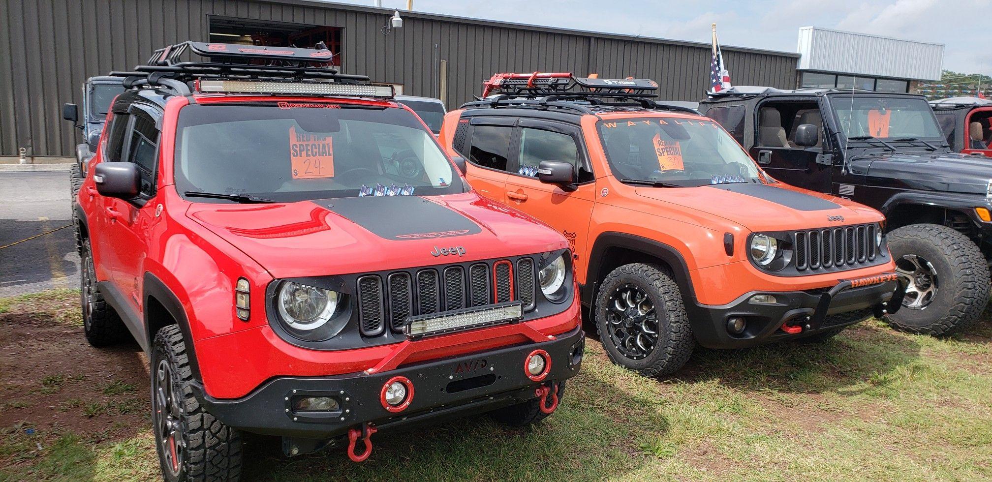 Havek And Hawkeye Jeep Renegade Jeep Renegade Trailhawk Custom