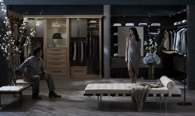 His And Hers Walk In Closet amazing his/hers closetcalifornia closets | closets & storage